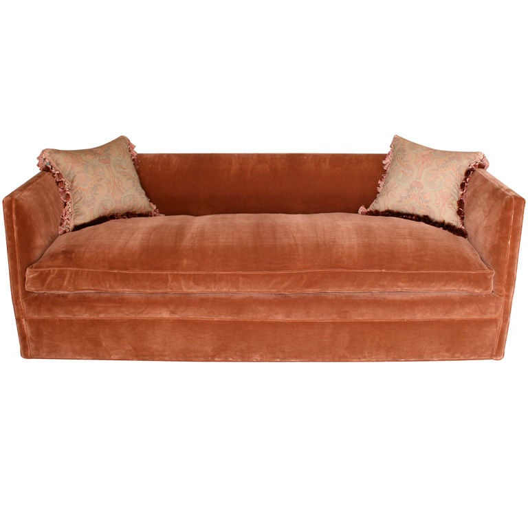 Knole Style Sofa in Brown Velvet at 1stdibs : XXX888612927091941 from www.1stdibs.com size 768 x 768 jpeg 42kB