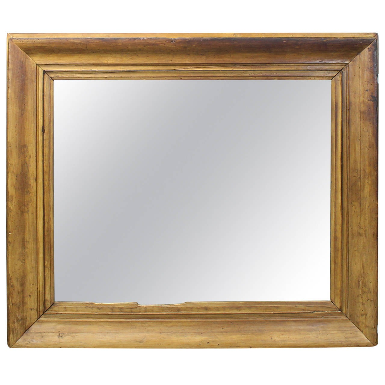 Uncategorized Large Pine Mirrors very large waxed pine mirror at 1stdibs 1
