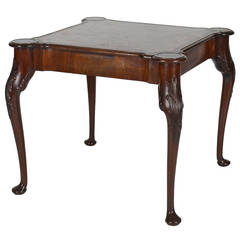 George III Style Card Table