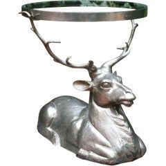 Recumbent Stag Occasional Table