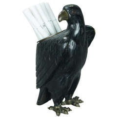 Carved Eagle Cigarette Holder