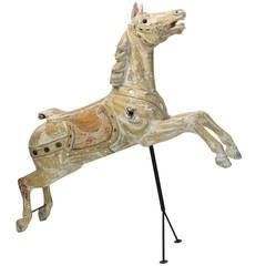 Early 20th Century Carousel Horse