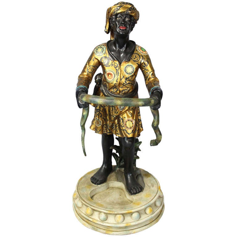 Large Blackamoor Umbrella Stand For Sale At 1stdibs
