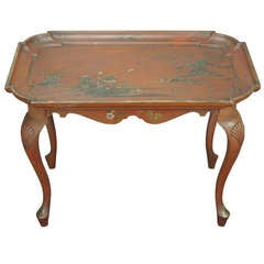 Chinoiserie Decorated Cocktail or Tea Table