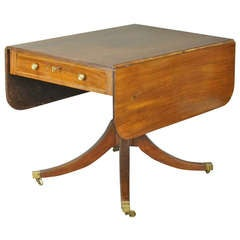 Moroccan Inlaid Side Table At 1stdibs