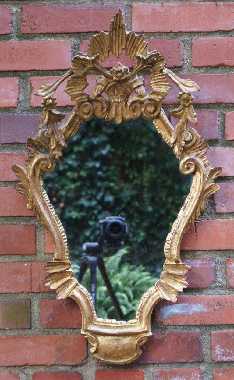 Pair of Venetian Style Mirrors 2