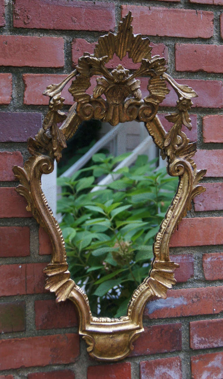Pair of Venetian Style Mirrors 3