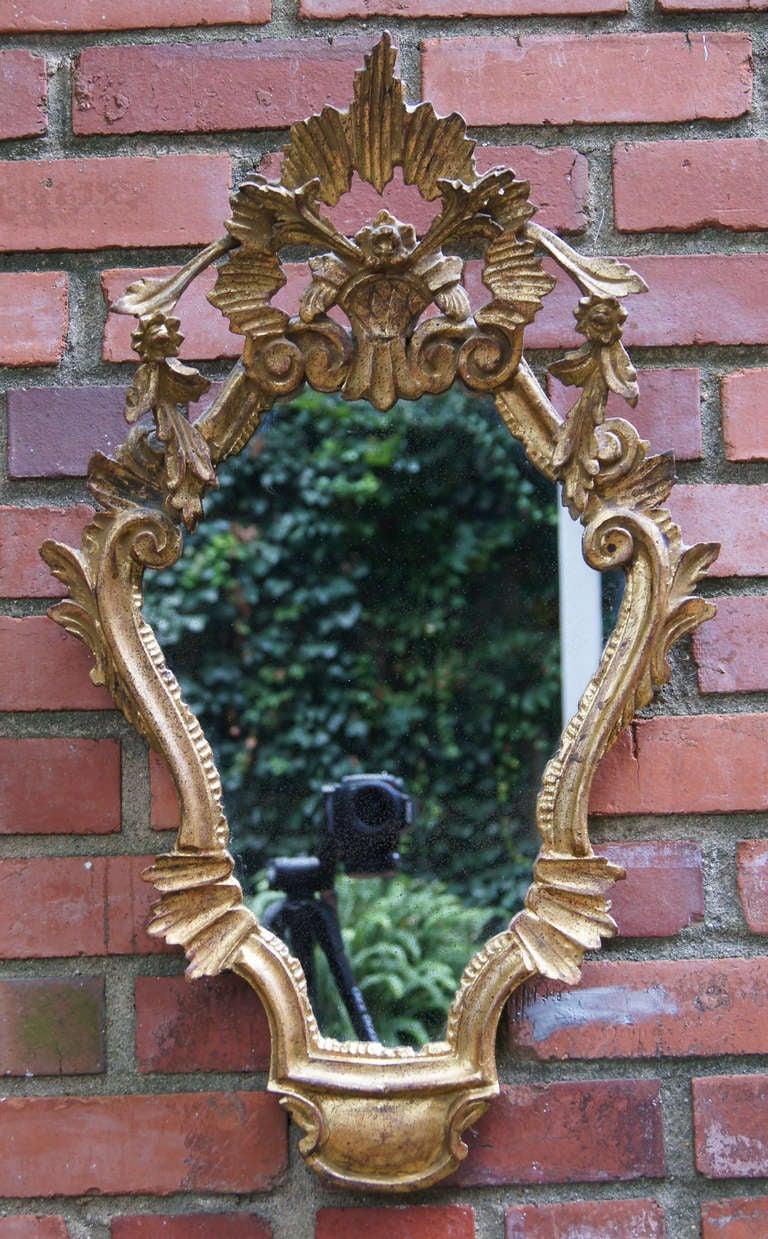Pair of Venetian Style Mirrors 4