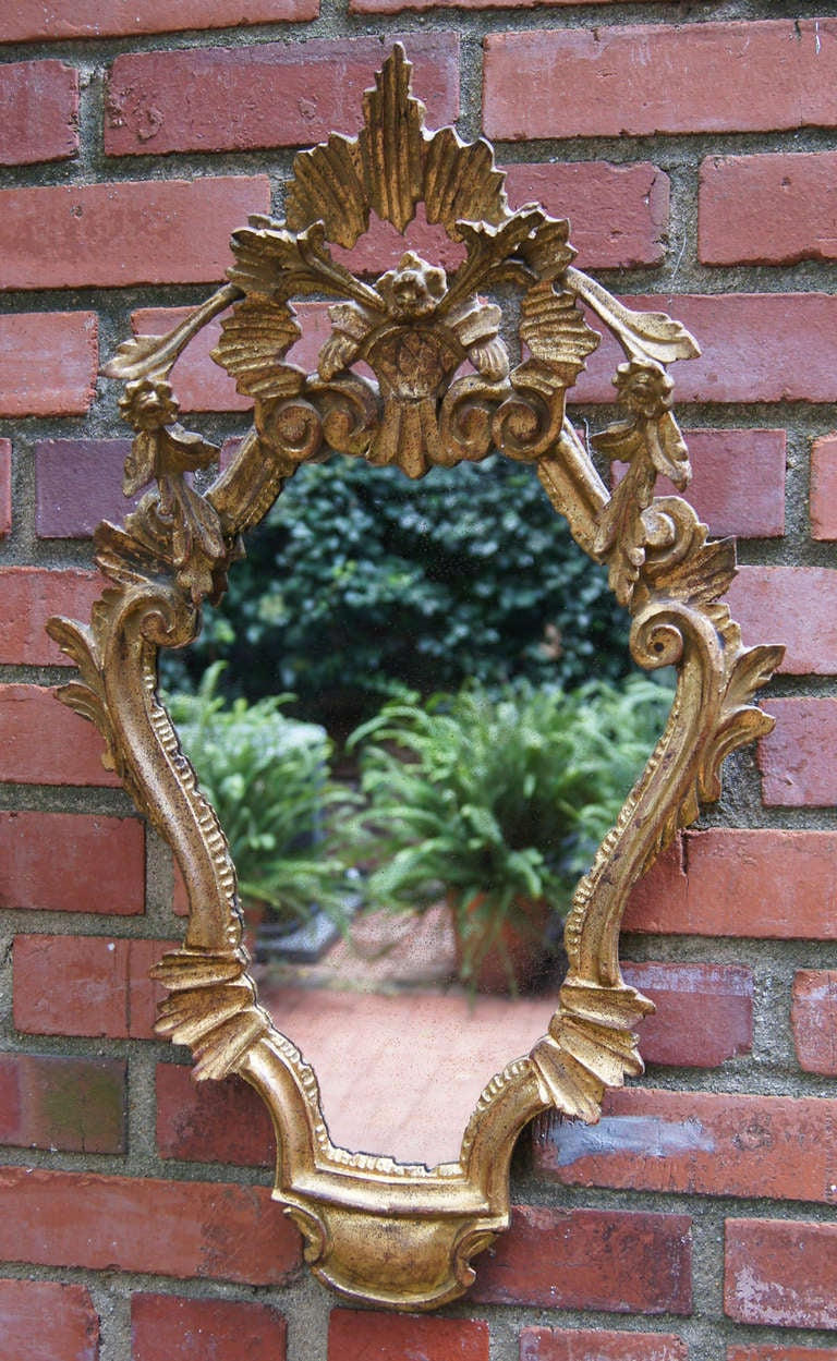 Pair of Venetian Style Mirrors 6