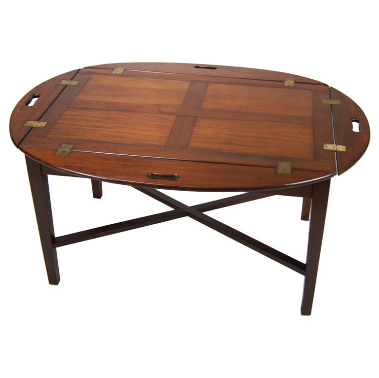 Large Butler S Tray Table At 1stdibs