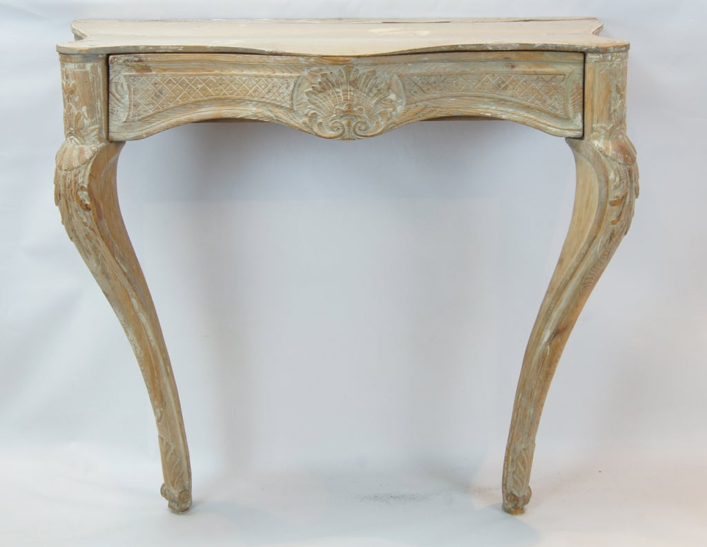 18th century french wall mounted console table at 1stdibs
