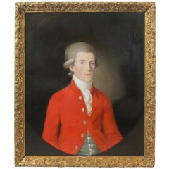 18th Century Portrait of a Young English Gentleman