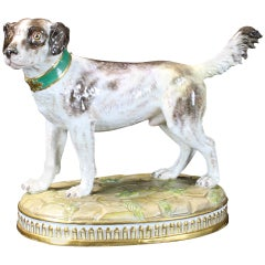 19th Century Meissen Dog