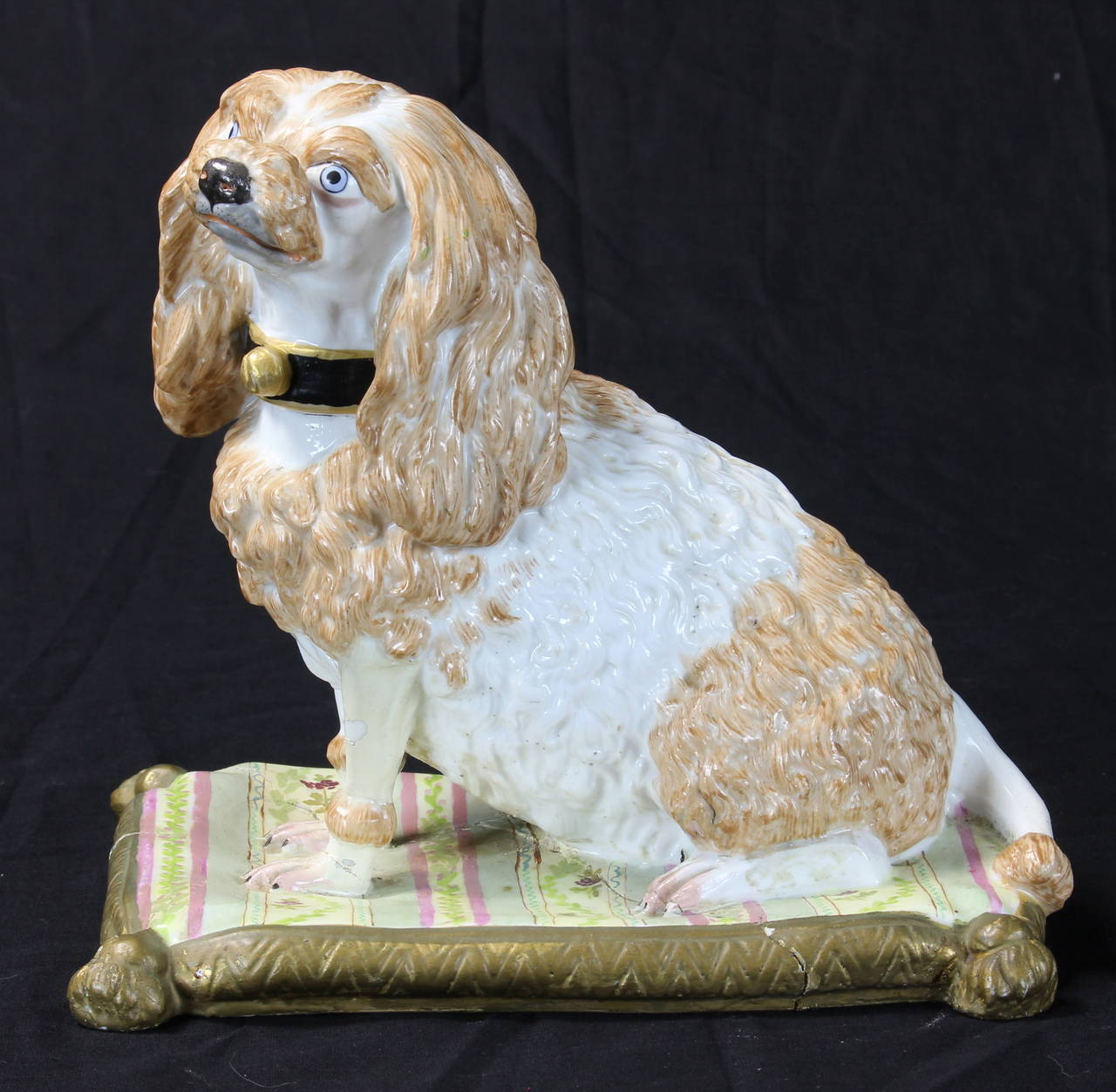 German Early 19th Century Meissen Dog For Sale