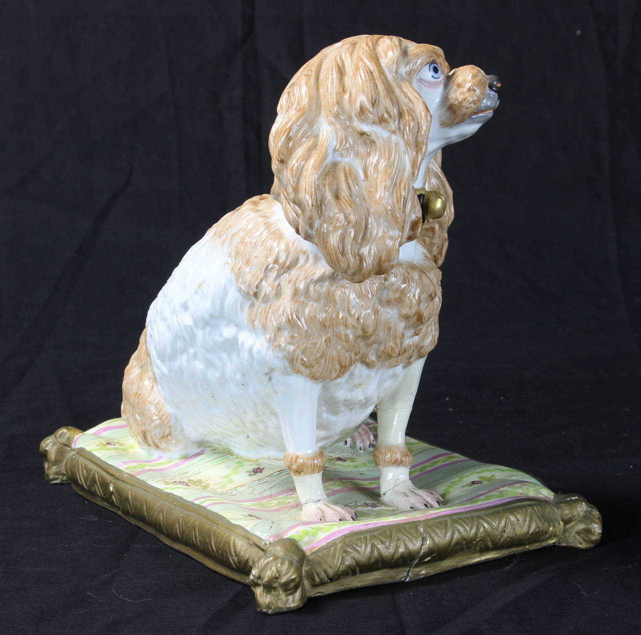 Early 19th Century Meissen Dog For Sale 1