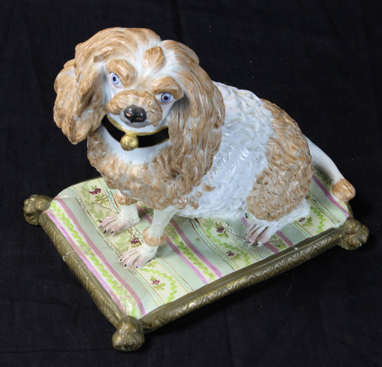 Early 19th Century Meissen Dog For Sale 2