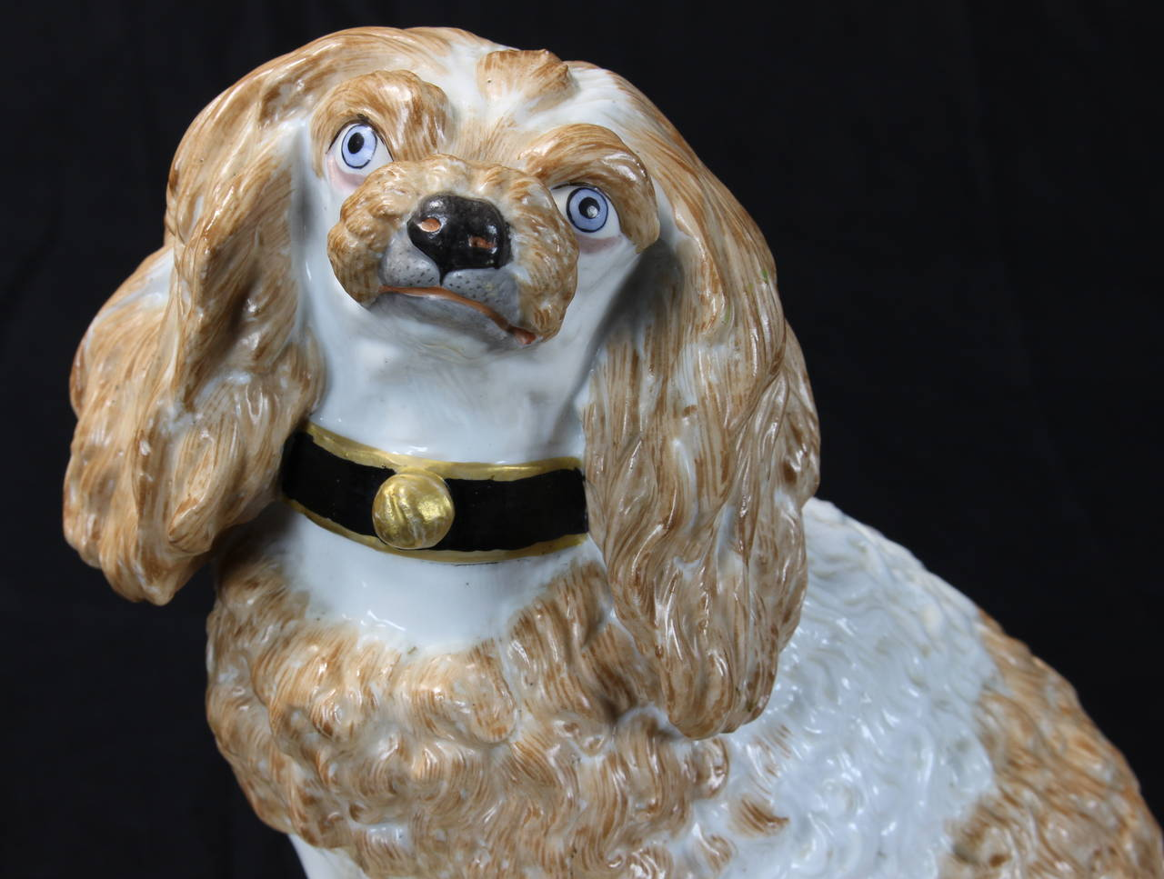 Early 19th Century Meissen Dog For Sale 3