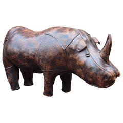Leather Abercrombie and Fitch Rhino