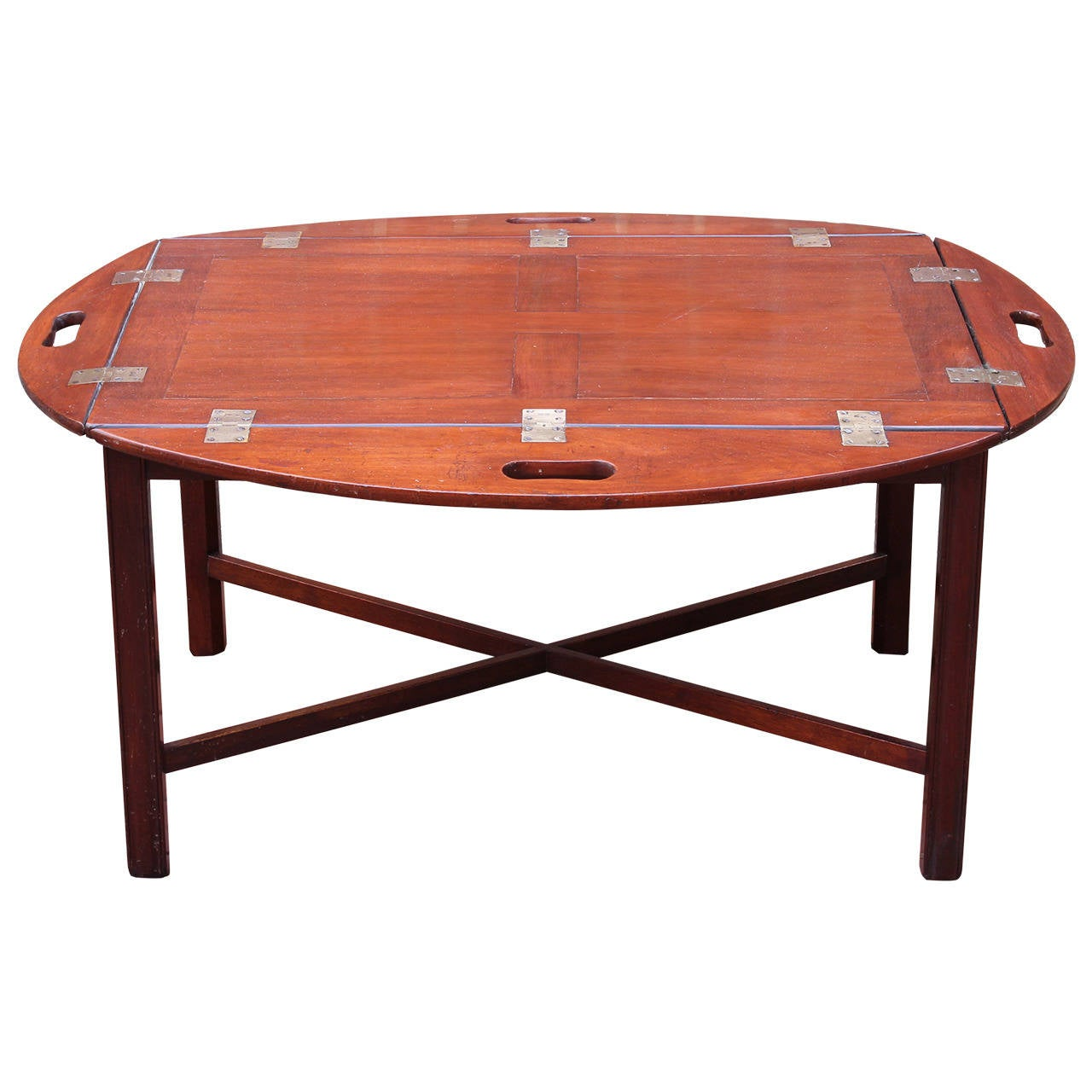 19th century english butler 39 s tray table at 1stdibs Butler coffee tables