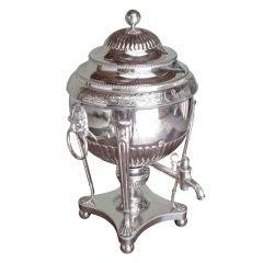 Regency Sheffield Tea Urn with Case