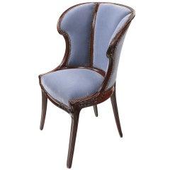 French art Nouveau Arm Chair by, Eugene Gaillard