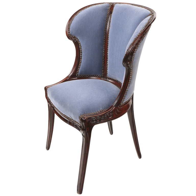 French art Nouveau Arm Chair by Eugene Gaillard at 1stdibs : XXXIMG2D41whiteA from www.1stdibs.com size 768 x 768 jpeg 44kB