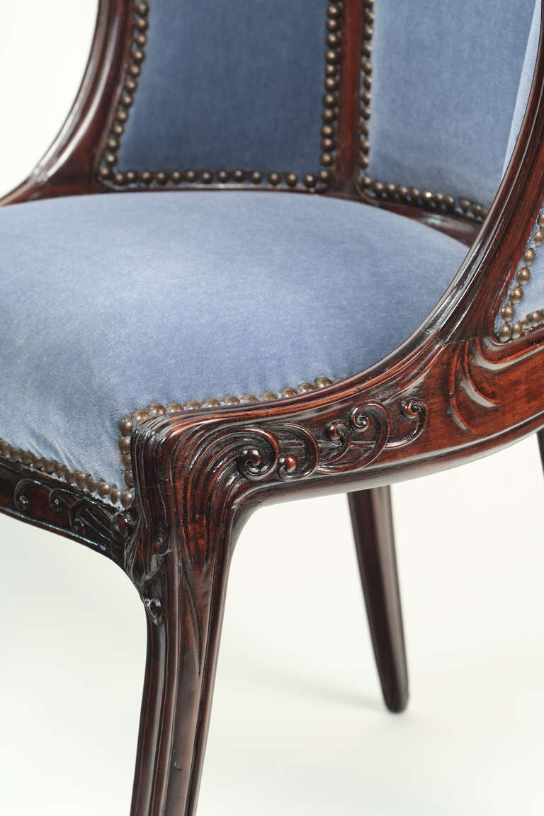 Rare original beech stained chair by eugene gaillard circa 1900 at - French Art Nouveau Arm Chair By Eugene Gaillard 2