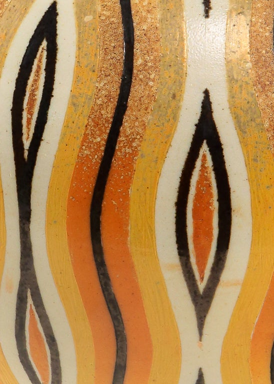 An Art Deco Style Ceramic Decorative Vase by, Douglas Breitbart image 2