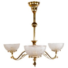 19th Century Eastlake Chandelier