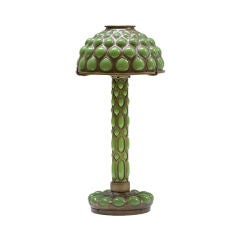 Tiffany Studios Blown Out Candlestick