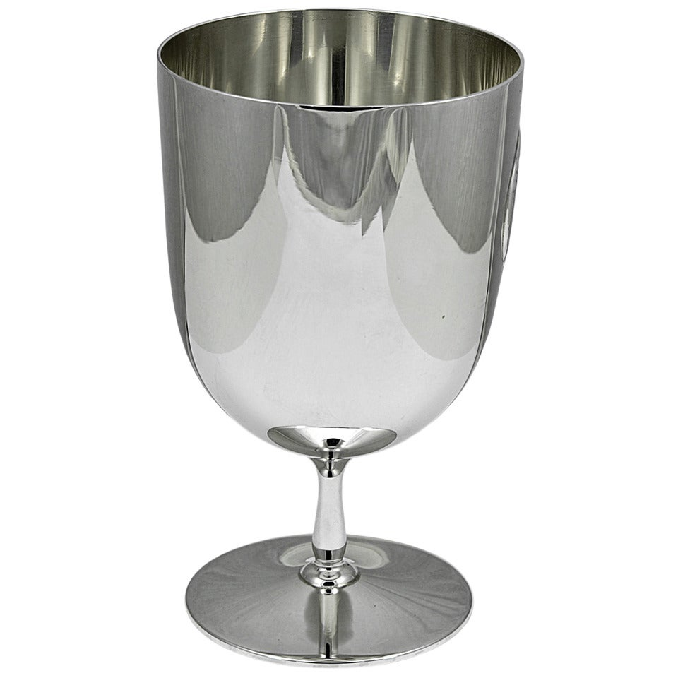 Tiffany & Co. Pair of Sterling Goblets For Sale