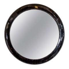 Midcentury Maitland Smith Tessellated Mirror