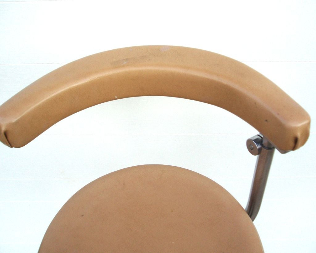 Pair of Vintage Bar Stools by Ritter at 1stdibs