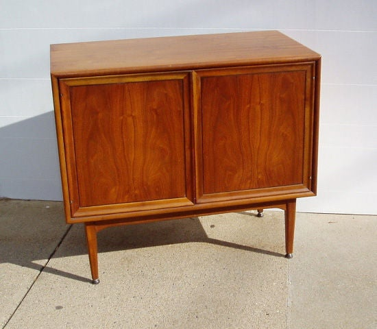 hanging kitchen cabinets mid century door walnut cabinet at 1stdibs 1560