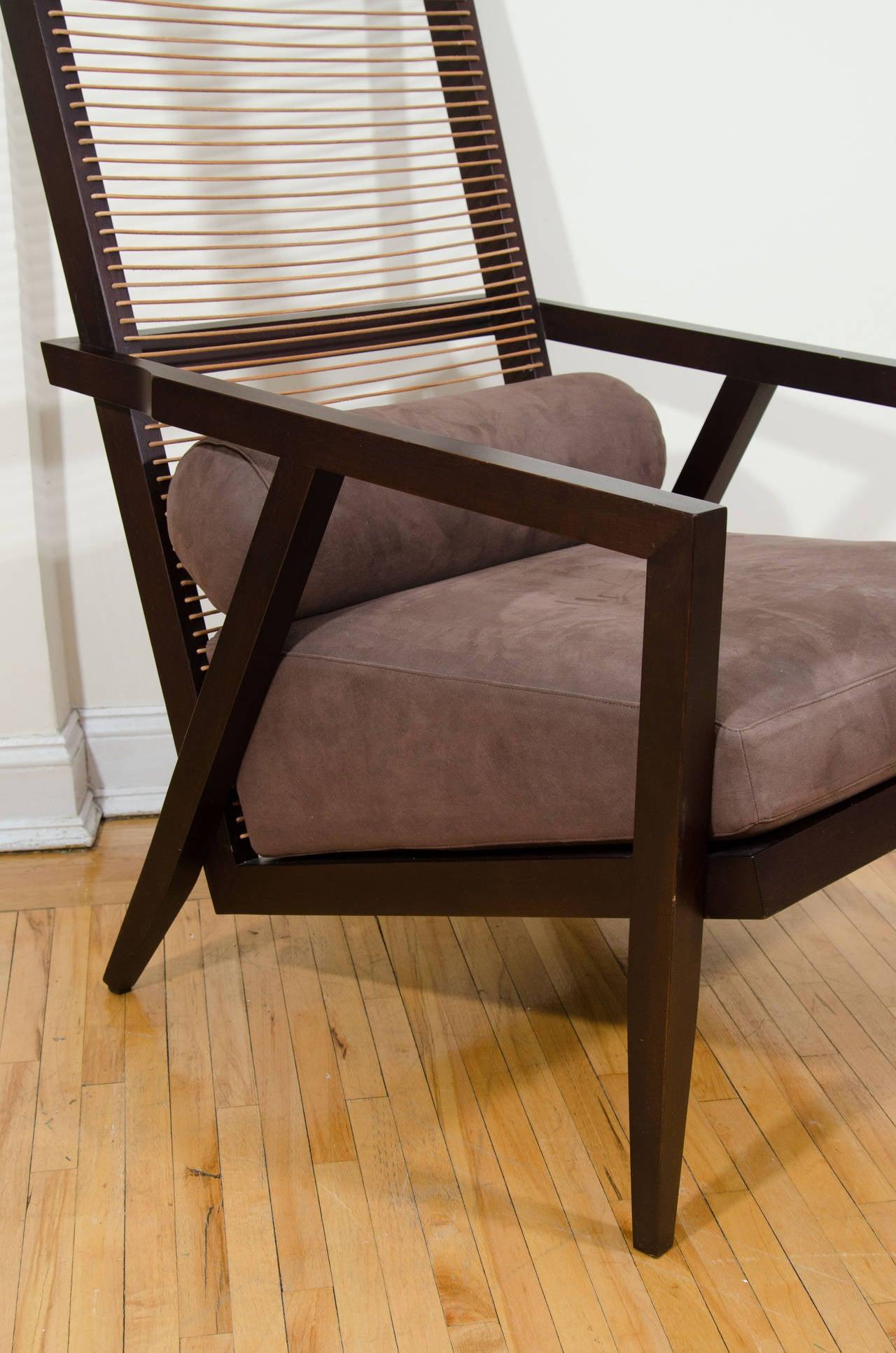 Pierantonio Bonacina Astoria High Back Lounge Chair At 1stdibs