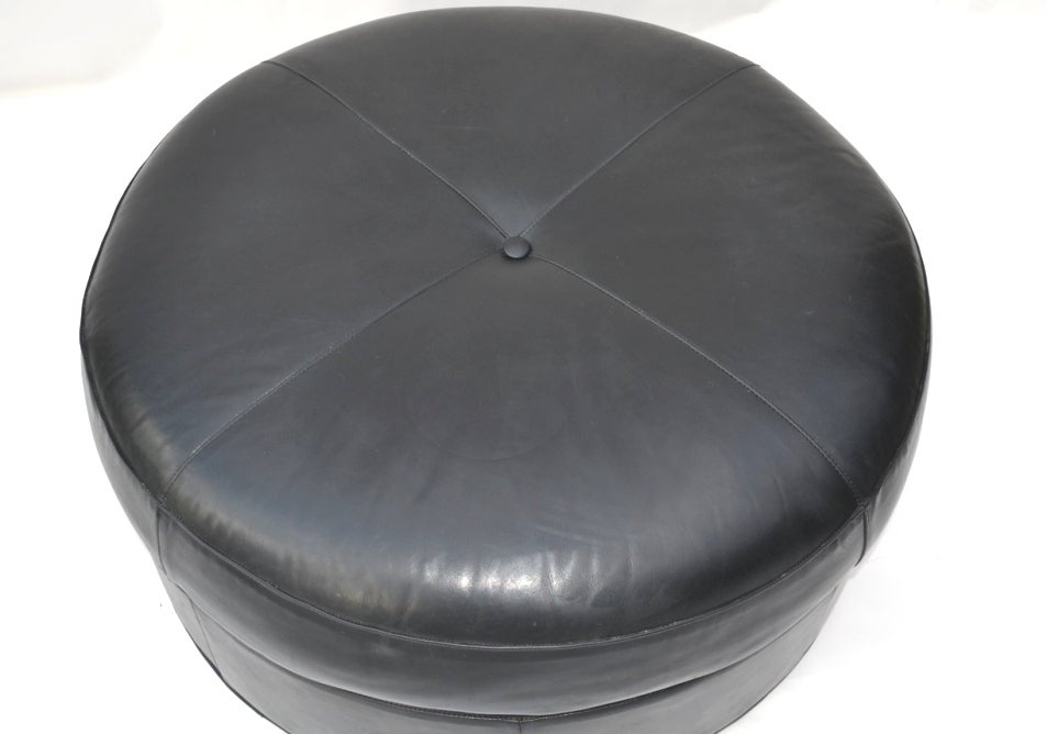 Round Leather Ottoman Design : ... , this item from Showplace Antique + Design Center is not available