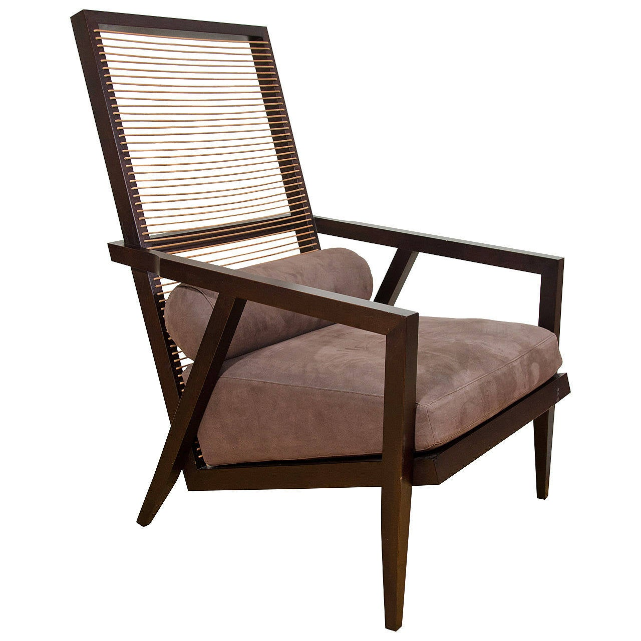 High back antique chairs - Pierantonio Bonacina Astoria High Back Lounge Chair 1