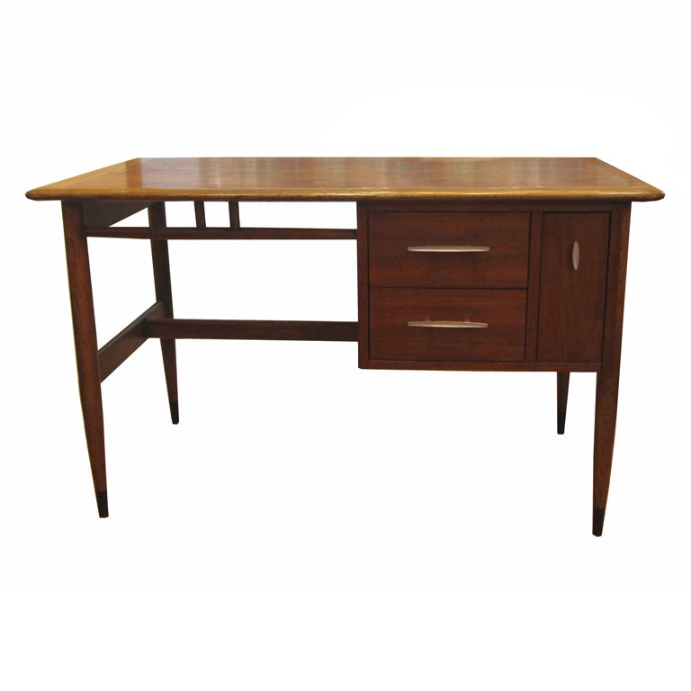 Modern Glass Executive Desk Mid Century Lane &quot...
