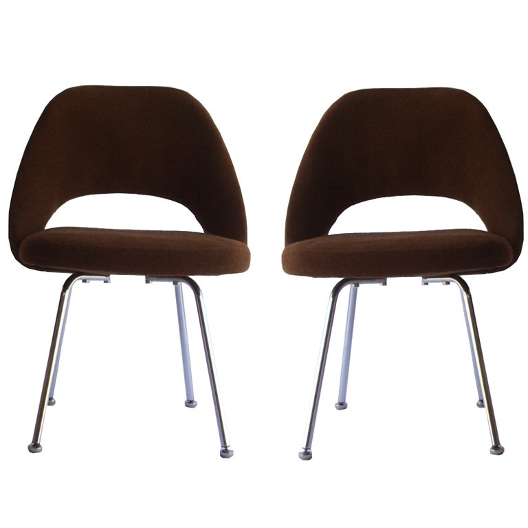 of mid century executive chairs by eero saarinen for knoll at 1stdibs