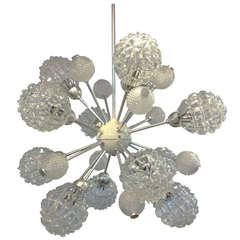 Richard Essig Bubble Sputnik Chandelier