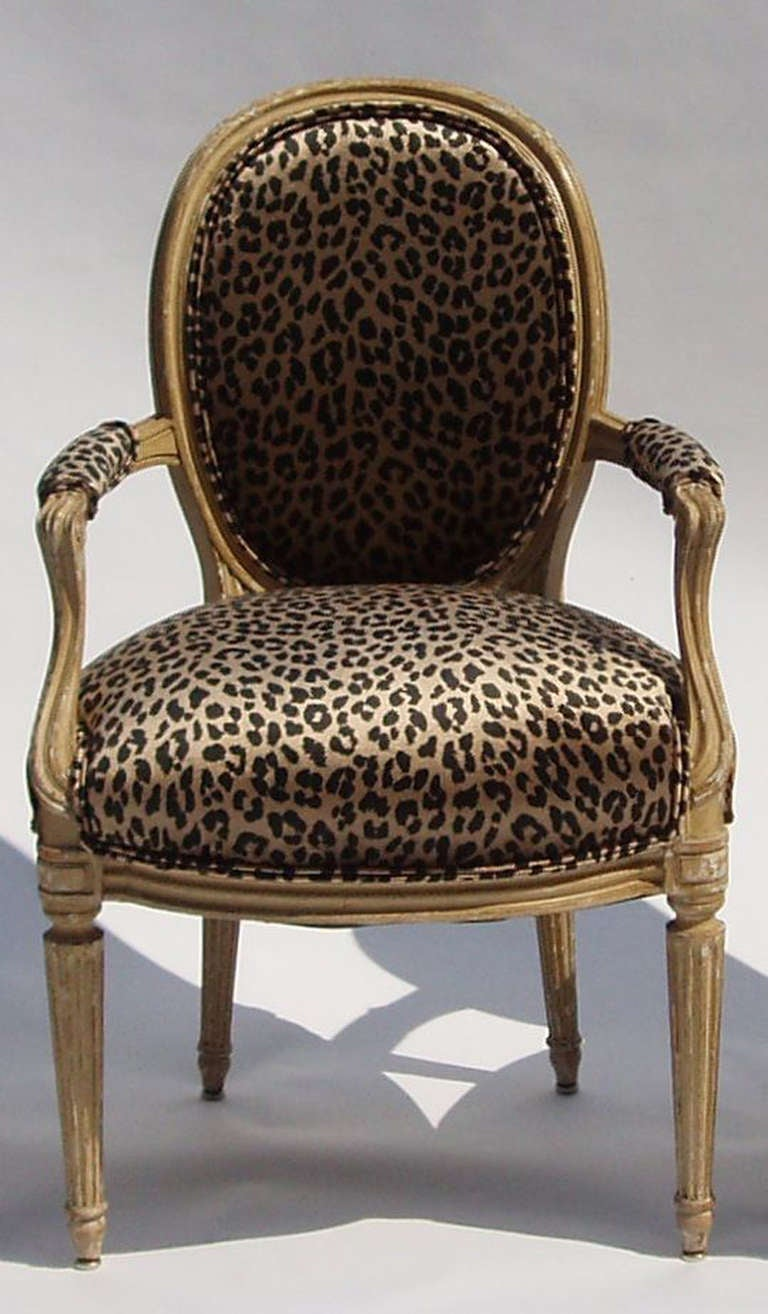 Set Of 7 Mid Century Louis XVI Style Arm Chairs By Maison Jansen For Sale At