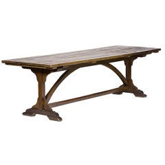 Antique Swedish Farm Table