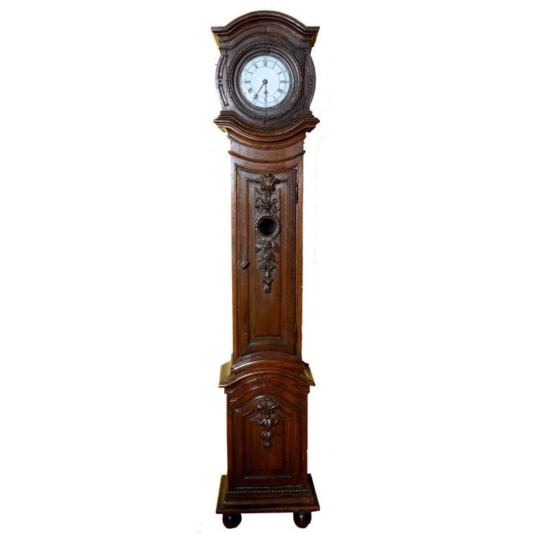18th Century Belgian Tall Case Clock