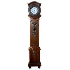 18th Century Belgian Tall Case Clock