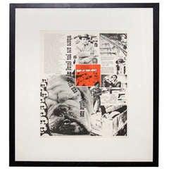Single Mid Century Print by Artist William Weege