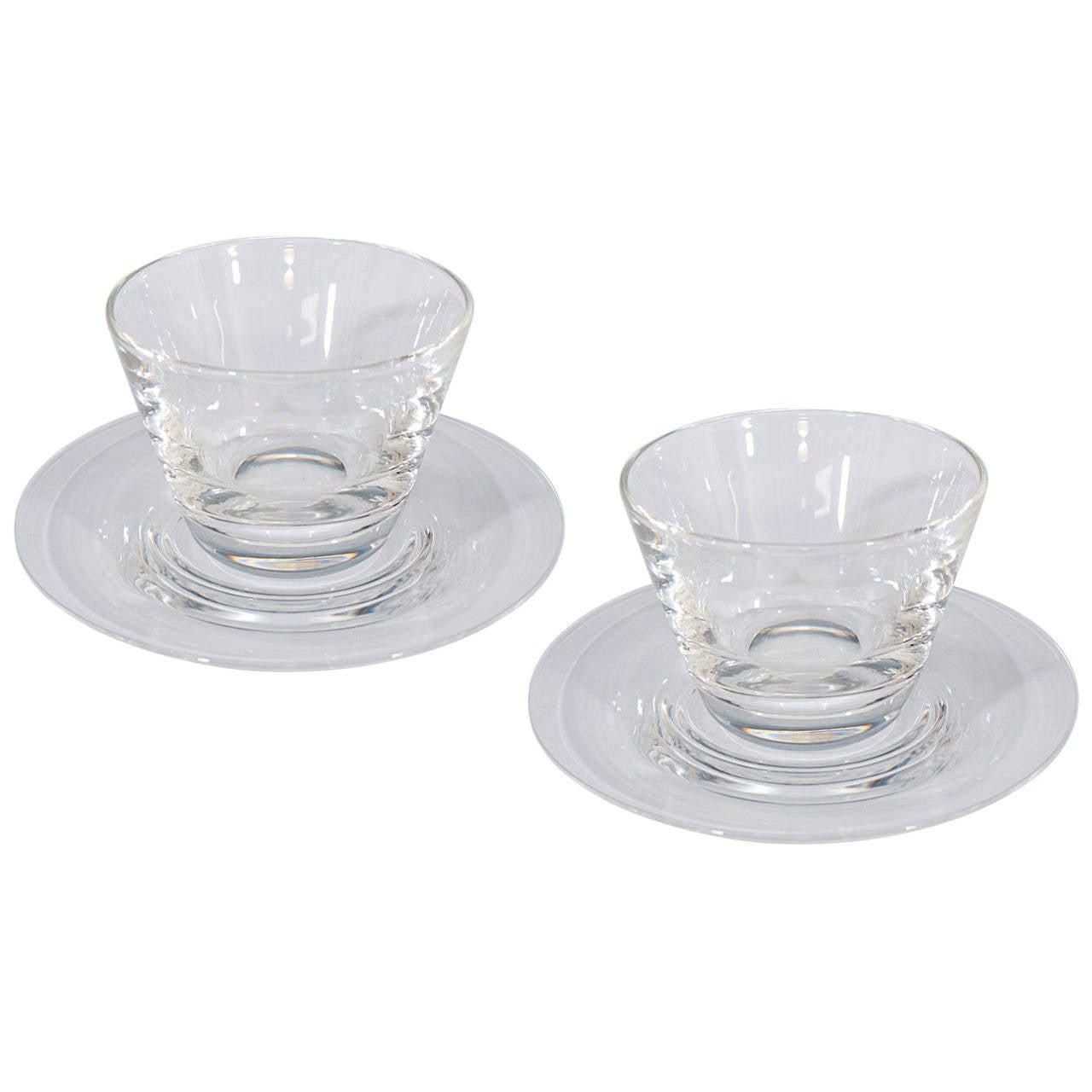 Set of 12 steuben glass finger bowls and underplates for sale at set of 12 steuben glass finger bowls and underplates for sale reviewsmspy