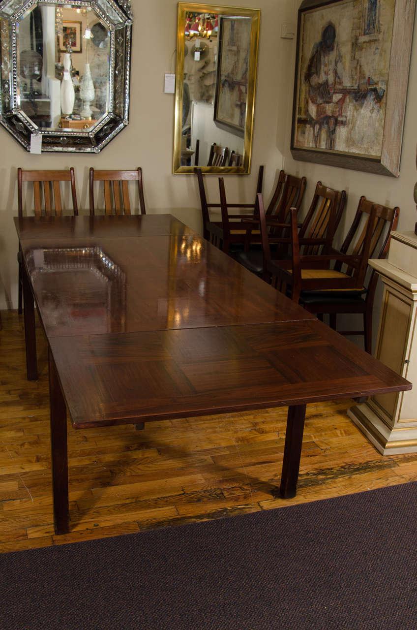 Norwegian Extendable Dining Table By Heggen At 1stdibs