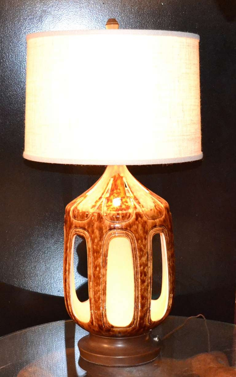 tortoise lighting. A Pair Of Vintage Table Lamps With Illuminated Faux-tortoise Glazed Ceramic Bodies. Tortoise Lighting E