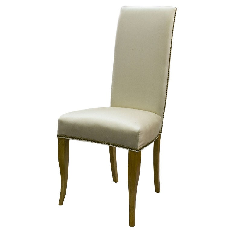 High back vanity chair at 1stdibs - Tall vanity chair ...