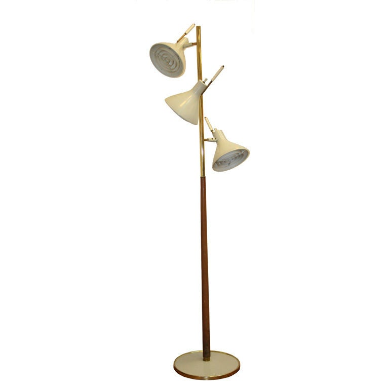 this three light floor lamp by lightolier is no longer available. Black Bedroom Furniture Sets. Home Design Ideas